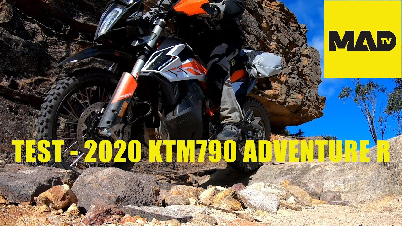Review & Test - 2020 KTM790 Adventure R