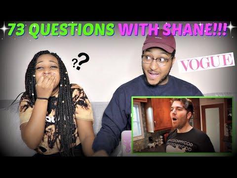 "Shane Dawson ""73 Questions With Shane Dawson   Vogue Parody"" REACTION!!!"