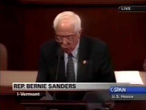 Flashback: Rep. Bernie Sanders Opposes Iraq War