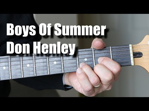 Boys Of Summer Guitar Lesson