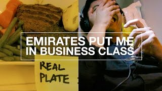 WHY DID EMIRATES UPGRADE ME TO BUSINESS CLASS?