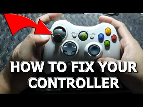 HOW TO TRULY FIX BROKEN, STICKY, UNRESPONSIVE ANALOG ON XBOX 360 CONTROLLER!