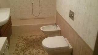 Bir xususiy uyda vannaxona va tualetlar yangilash