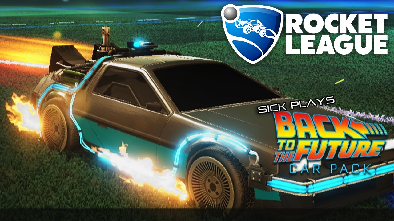 Rocket League Back To The Future Car Pack Dlc The Delorean