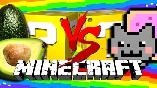 Minecraft | FR E SH A VOCA DO LUCKY BLOCK CHALLENGE | Nyan Cat Fights thumbnail