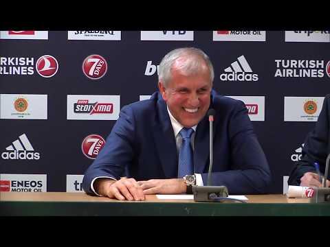 Euroleague Post - Game Press Conference: Panathinaikos OPAP Athens vs Fenerbahce Istanbul
