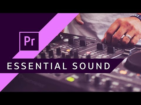Omówienie panelu Essential Sound ▪ Adobe Premiere #97 | Poradnik ▪ Tutorial thumbnail