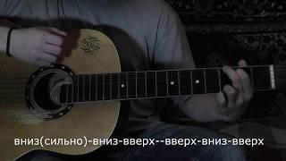 Алые паруса - видеоурок на гитаре.