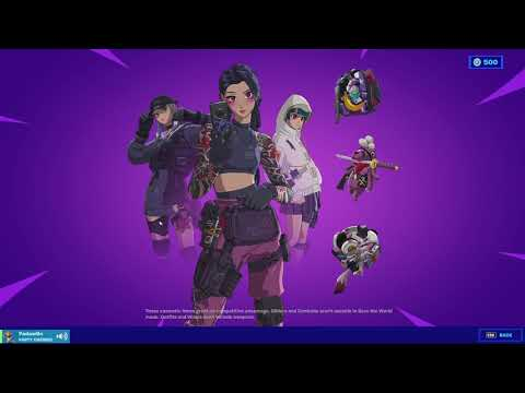 FORTNITE CYBER INFILTRATION PACK REVIEW | ANIME PACK REVIEW | April 8th Item Shop Review