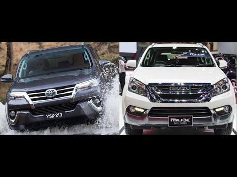 New Suv Toyota Fortuner 2016 Vs Isuzu Mu X 2