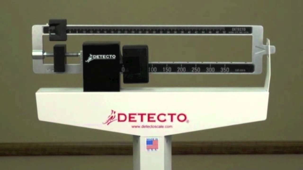 Detecto Physician Scale Demonstration  YouTube