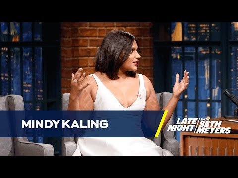 Mindy Kaling Is Invisible to Paparazzi on Ocean's Eight Set