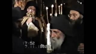 Непоказван видеоклип със Св. Паисий в църквата