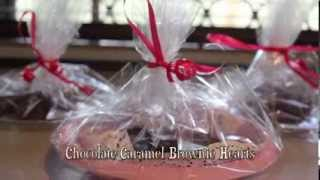 Valentine Idea: Brownie Hearts