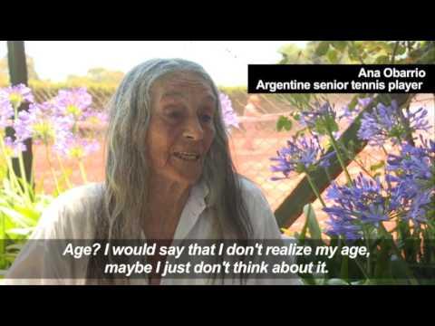Argentine grandmother revives tennis dream at 83