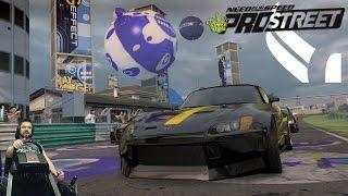 Сончик рвёт всех на самой дохлой тачке Need for Speed: ProStreet на руле Fanatec CSL Elite