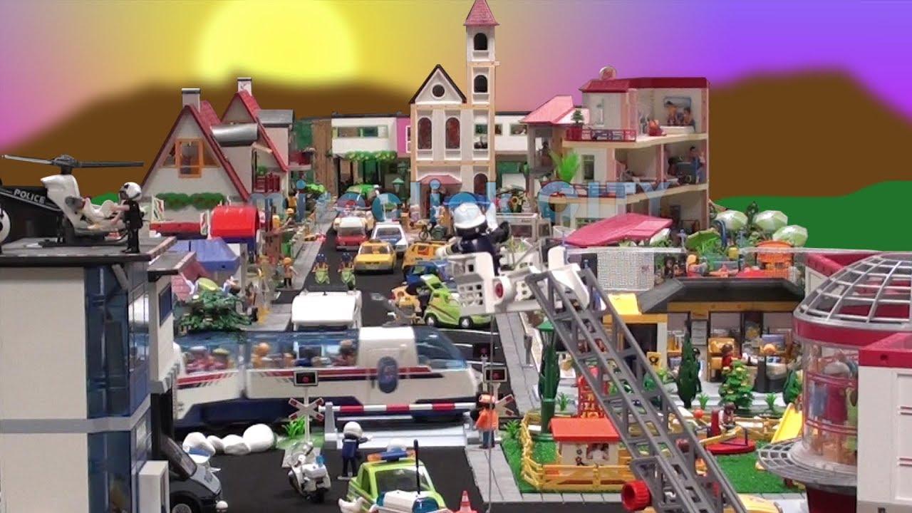 Playmobil City Mireclick La Ciudad De Las Flores Youtube