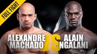 ONE: Full Fight | Alexandre Machado vs. Alain Ngalani | Grappling Showcase | August 2016