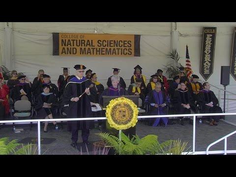 2015 CSULB Commencement - Natural Sciences & Mathematics