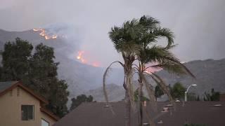 Newbury park fire 2018 Ventura county ,  hill fire