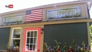 """American Freedom"" Off Grid Tiny House built by Incredible Tiny Homes"