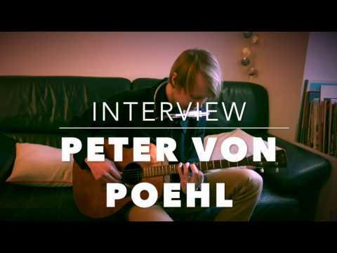 Rencontre avec le singer-songwriter suédois Peter Von Poehl (2017)
