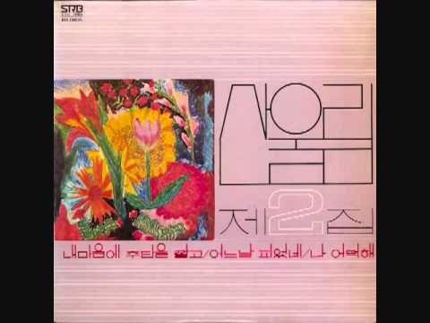 Sanulrim 산울림- 내마음에 주단을 깔고 1978 2nd Album
