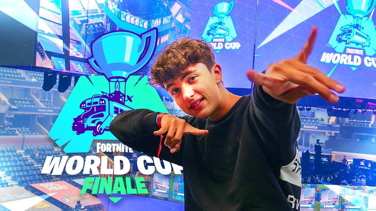 DANS LES COULISSES DE LA WORLD CUP FORTNITE 2019 ! MON SÉJOUR DE FOLIE A NEW-YORK (Feat. Solary) !