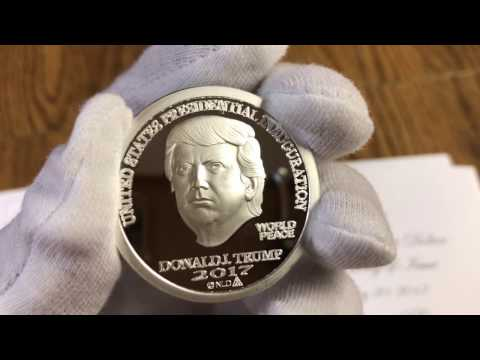 Donald Trump Inaugural First Day Of Issue Trump Dollar