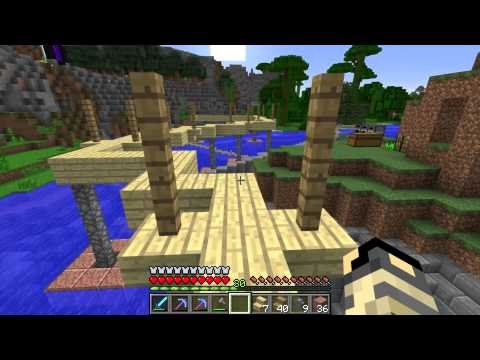 Let's Play Minecraft: Superiority Corp SMP: 41-  The Tramway
