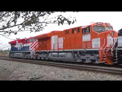 FOUR MORE CN HERITAGE UNITS SITTING AT TERMINAL ROAD IN CENTRALIA, ILLINOIS