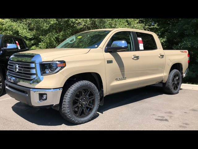 1st Look 2020 Toyota Tundra Limited - Great Upgrades!