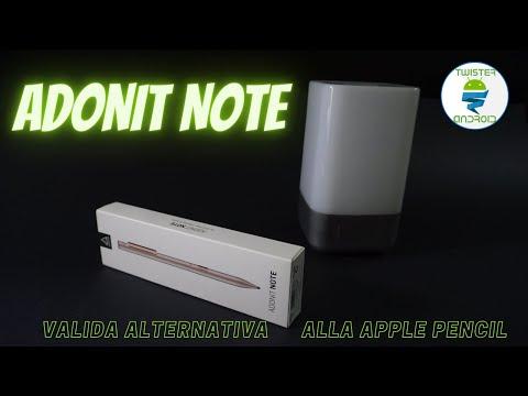 Adonit Note, valida alternativa alla Apple Pencil