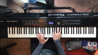 Supertramp It's Raining Again Piano tutorial written & composed by Roger Hodgson
