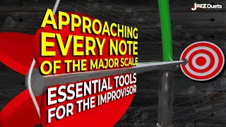 Approaching Every Note Of The Major Scale Exercises/all Instruments