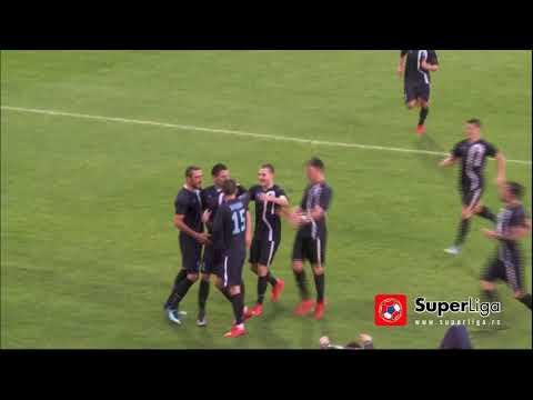 Super liga 2017/18: 30.Kolo: VOJVODINA – RAD 2:1 (0:1)