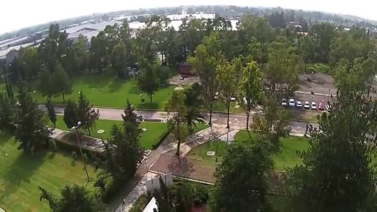 jardin botanico fesc cuautitlan unam mexico desde arriba