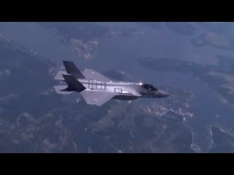 "Watch the maiden flight of Israel's first F-35 fighter jet, the ""Adir"""