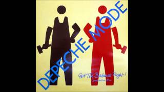 depeche mode get the balance right (get combination master/people mix )