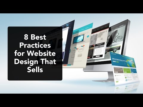8 Best Practices for Website Design that Sells