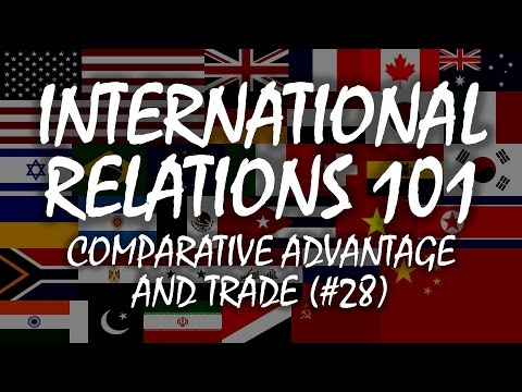 International Relations 101 (#28): Comparative Advantage and Trade