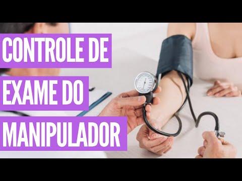 PLANILHAS DE CONTROLE #3 CONTROLE DE EXAME DO MANIPULADOR