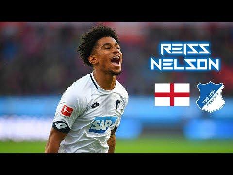 Reiss Nelson 2018-2019 - Rising Star - Magic Skills Show - TSG Hoffenheim