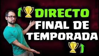 DIRECTO FINAL DE TEMPORADA, ¡EN 7000+ COPAS! SORTEO PASES DE BATALLA | Malcaide Clash Royale