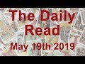 """THE DAILY READ  """"THE IMPOSSIBLE BECOMES POSSIBLE""""  May 19th 2019 - Daily Tarot Reading"""