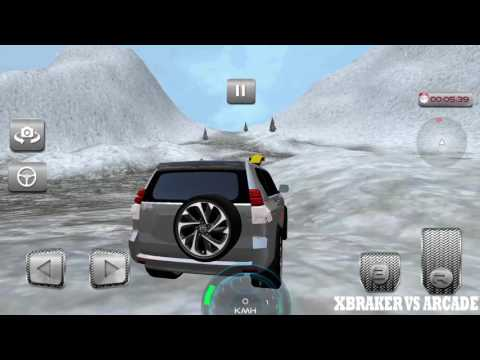 Offroad Snow 4x4 Prado Driving Android Gameplay 2017