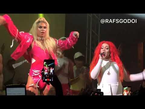 Terremoto - Lia Clark e Gloria Groove AO VIVO em São Paulo