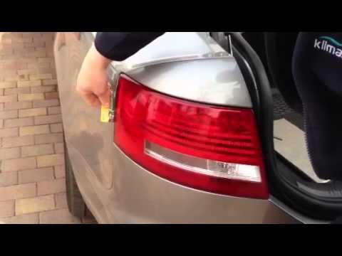 Demontaż Tylnej Lampy Audi A6 Youtube