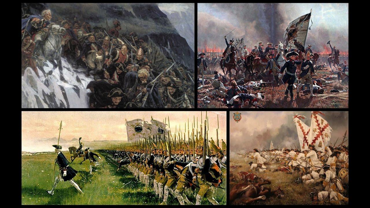 Новая История 1500-1800 #21: Военное дело 18-го века - YouTube