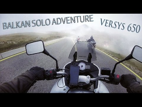 All Balkan mountains - epic motorcycle adventure!